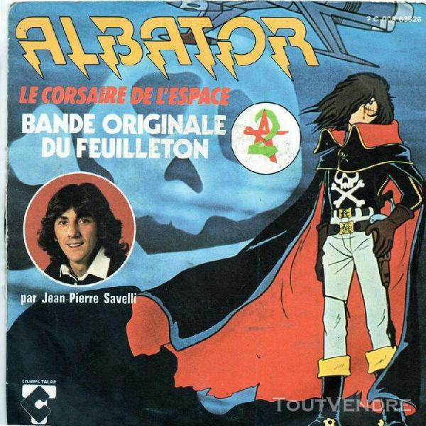 45 tours generique dessin anime  tv albator jean pierre