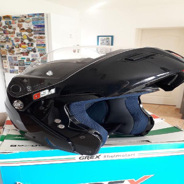 Casque moto integral neuf, leuc (11250)