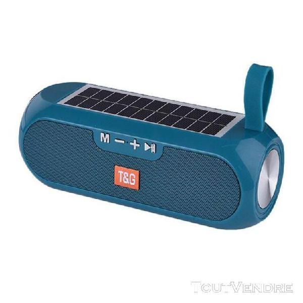 Charge solaire bluetooth haut parleur portable sans fil colo