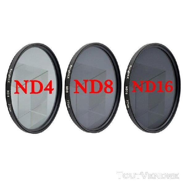 Knightx uv cpl filtre à densité neutre variable nd2 1000