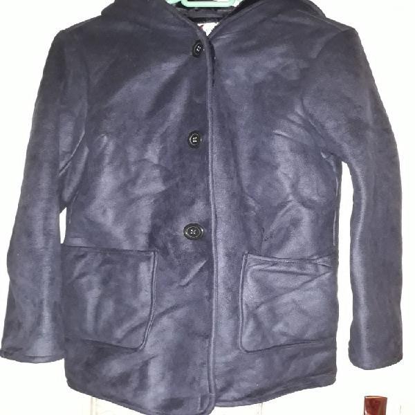 Manteau 3/4 capuche. gemo. 38 bleu marine neuf,