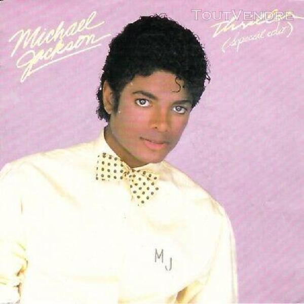 Michael jackson / thriller / (spécial edit) 45 tours. 198