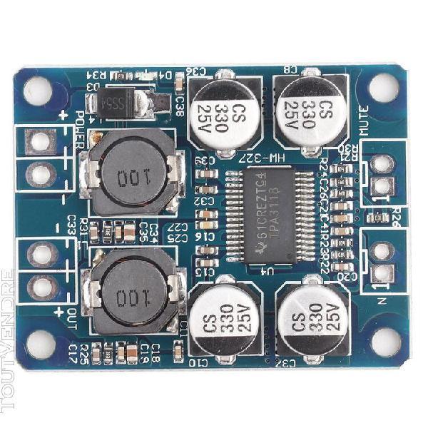 Module de carte d'amplificateur audio pour haut-parleur mono