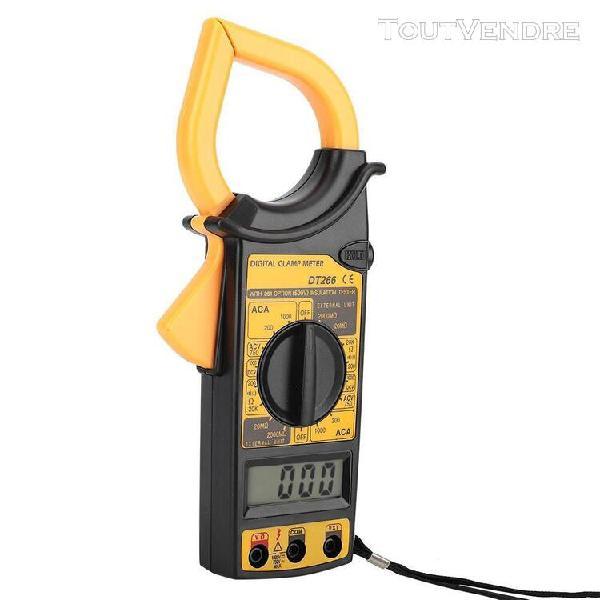 Multimètre à pince numérique dt266 1999 compte testeur de