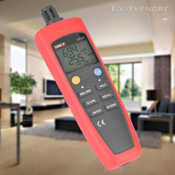 Outil de mesure d'humidité température de l'affichage lcd
