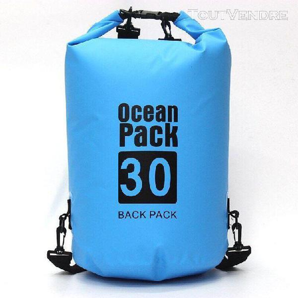 Sports nautiques en plein air couleur unie sac à dos
