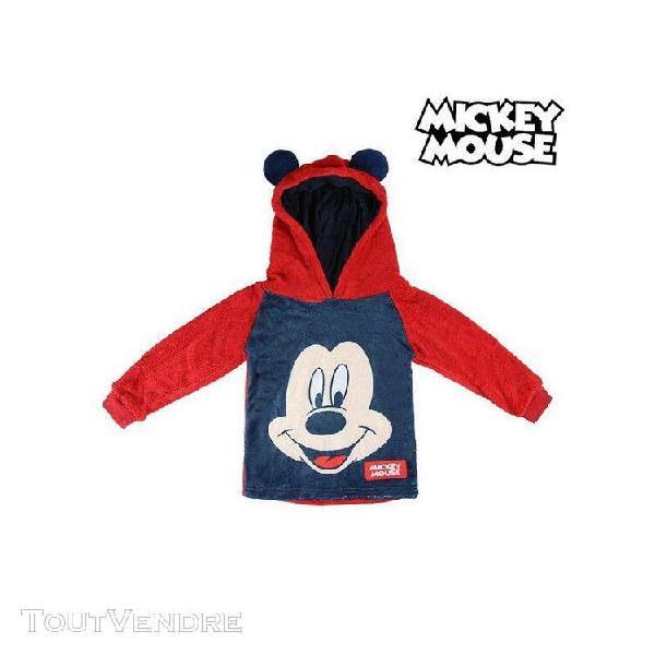 Sweat à capuche enfant mickey mouse 74224 rouge