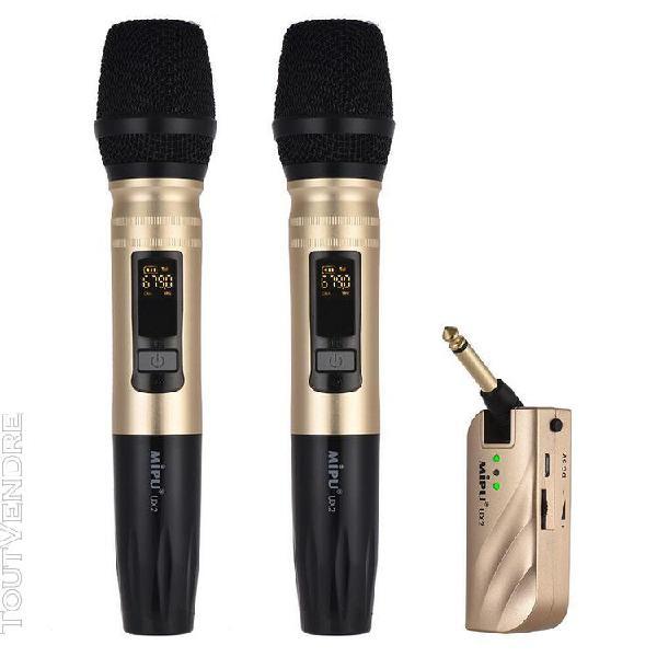 Syst¿¿me micro de microphone tenu dans la main sans fil de