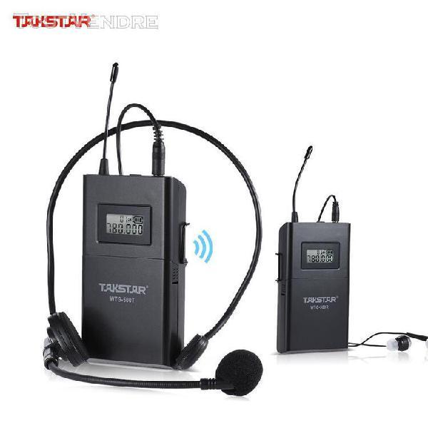 Syst¿¿me takstar wtg-500 sans fil uhf acoustique