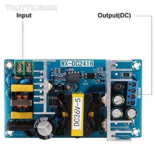 5-6.5a ac 100v-240v dc 36v module de carte d'alimentation mo