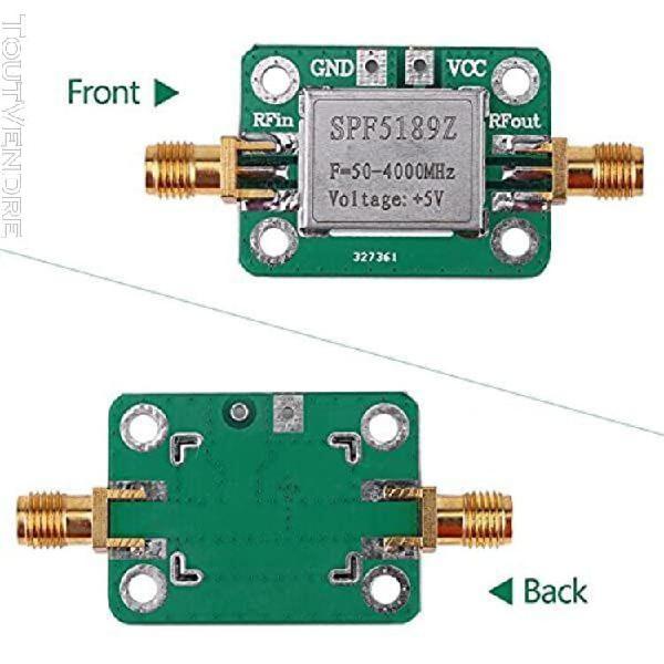 Module amplificateur rf faible bruit large bande lna 50-4000