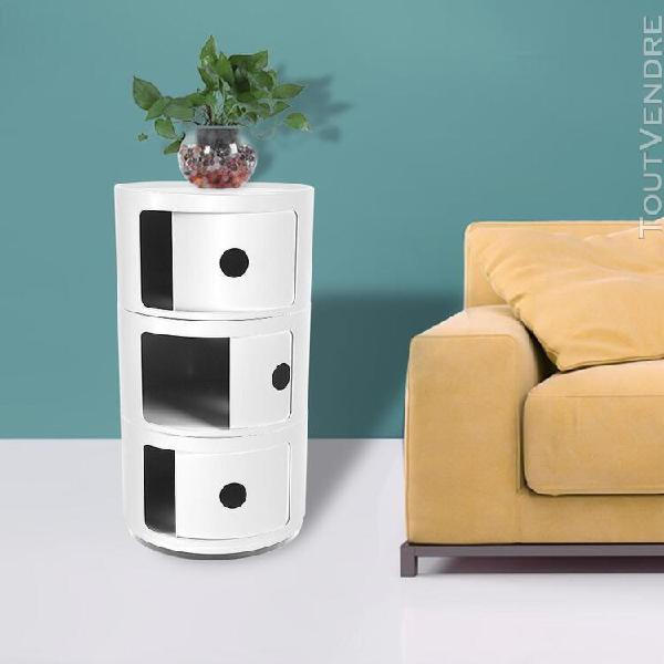 Table chevet table rangement multifonctionnelle meubles mode