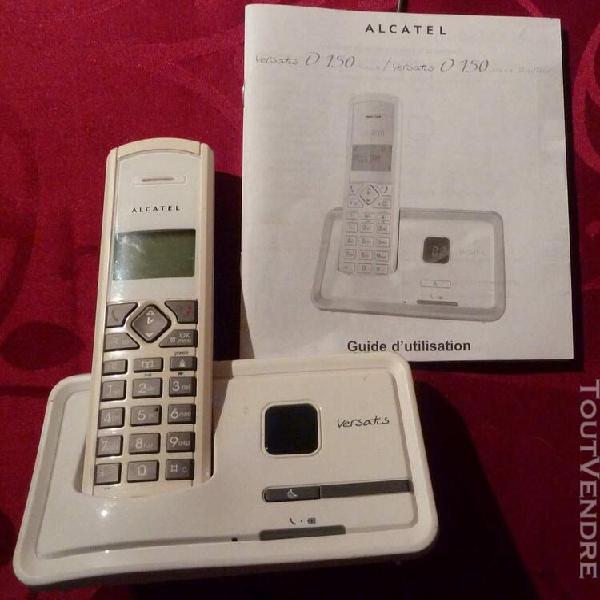 Telephone-répondeur alcatel versatis d150 trio