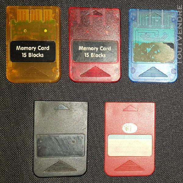 Cartes mémoires - ps1 - génériques