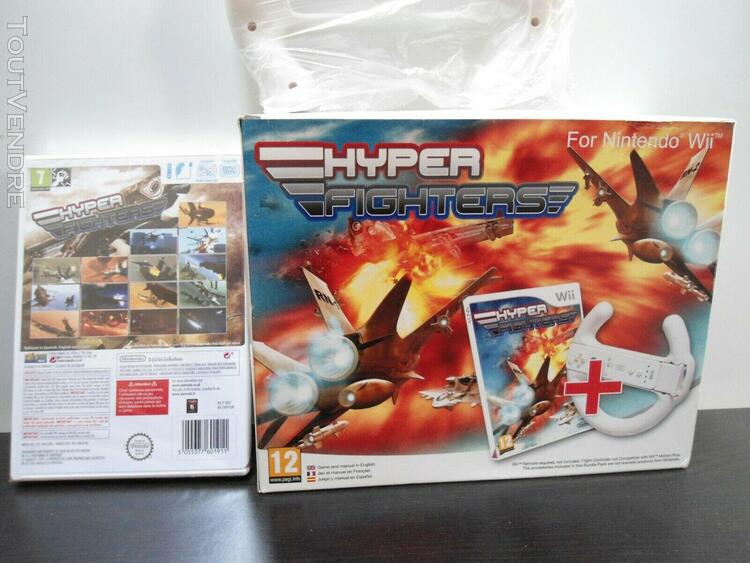 Wii: hyper fighters - pal jeux neuf sous blister.