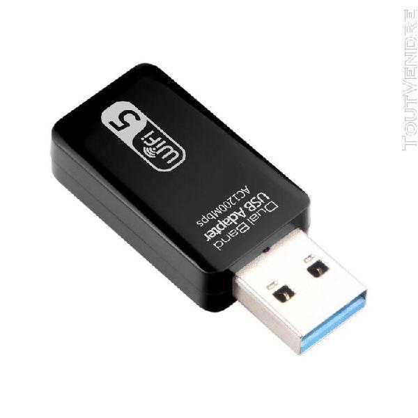 Adaptateur usb sans fil adaptateur wifi double bande usb3.0