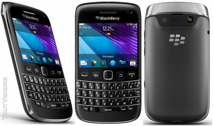 Beau telephone portable blackberry bold 9900 bloque orange f