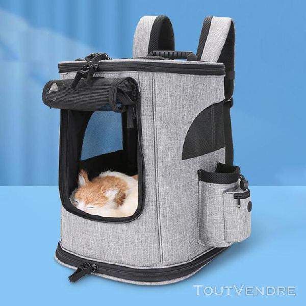 Pet pet carrier sac à dos pour petits chiens chats chiots