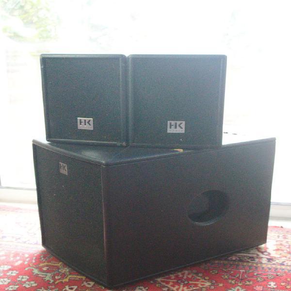 Quipement de sonorisation hk-enceintes hk audio lucas