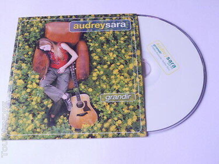 Audrey sara - grandir - cd promo 1 titre