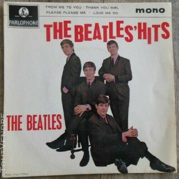 Beatles(lot de 4 eps)