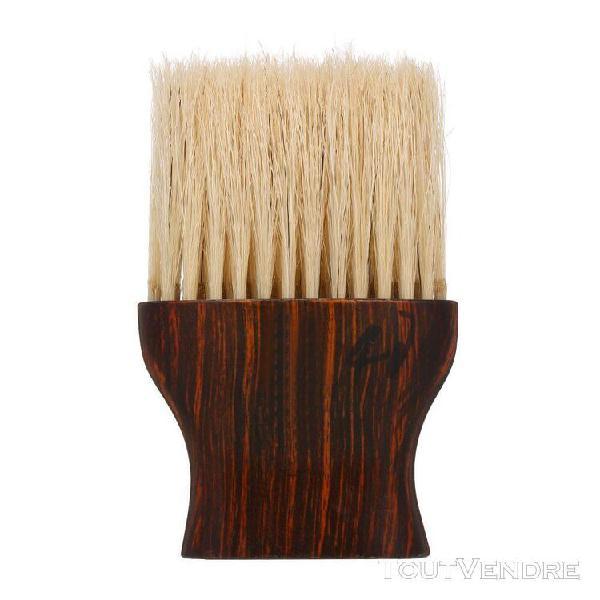 Coupe de cheveux visage cou duster brosse pour coiffure styl