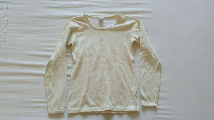 Tee shirt thermolactyl sous vetement sport d hiver petit bat