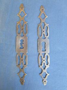 2 entrées serrure fer forgé porte meuble louis xvi armoire