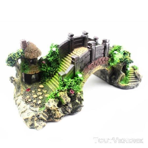 Aménagement paysager du pont décoratif pour décor