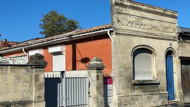 Bordeaux maison 3 pièces de 60m2 à rénover