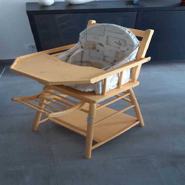 Chaise bebe bois occasion, talmont-saint-hilaire (85440)