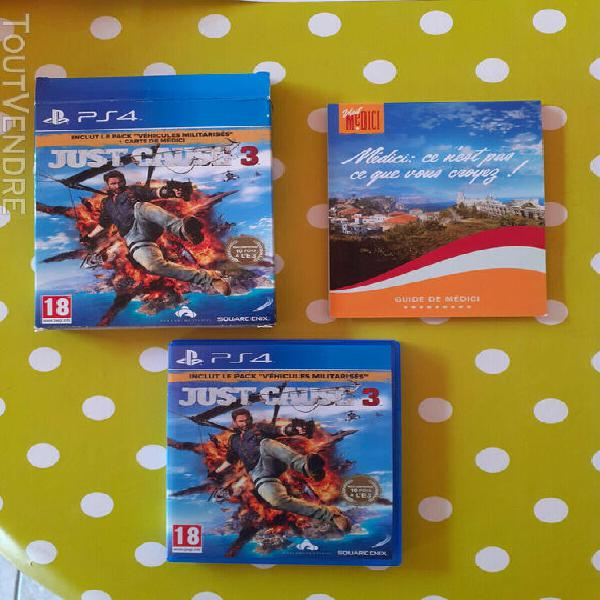 Jeu sony playstation ps4 - just cause 3