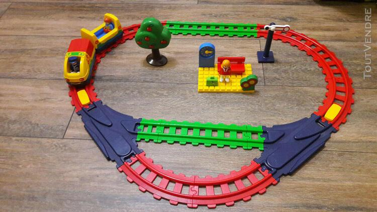 Playmobil 123 * 6915 * circuit train electrique *