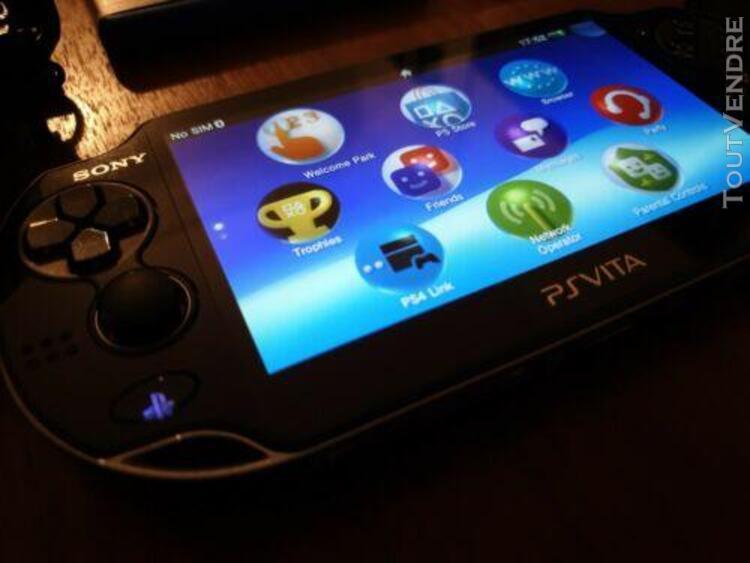 Ps vita playstation vita oled 3g / wifi + 4go + 3 jeux + hou