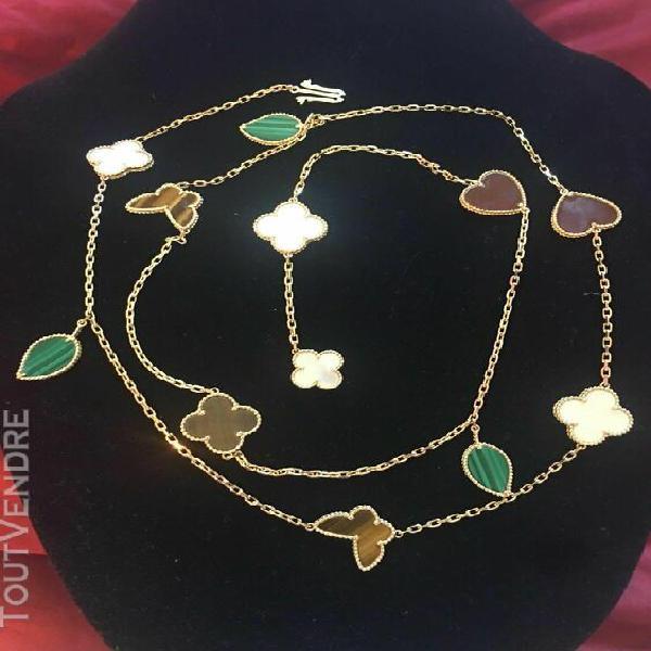 Van cleef & arpel lucky alhambra 12 motif mother of pearl ti