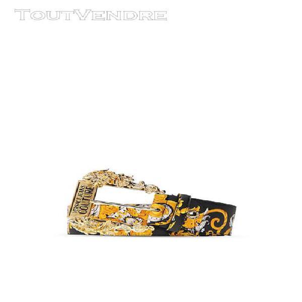 Versace jeans couture ceintures ceintures unisex multicolore