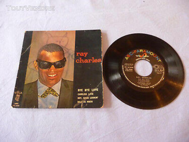 Disque vinyle 45 tours ray charles soul / jazz vega abc vint