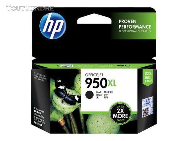 Hp 950xl cartouche d'encre noir haute capacité 2300 pages