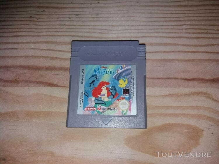 Jeux game boy the little mermaid