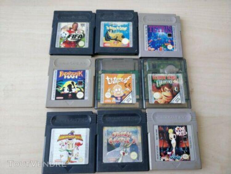 Jeux video - lot de jeux game boy