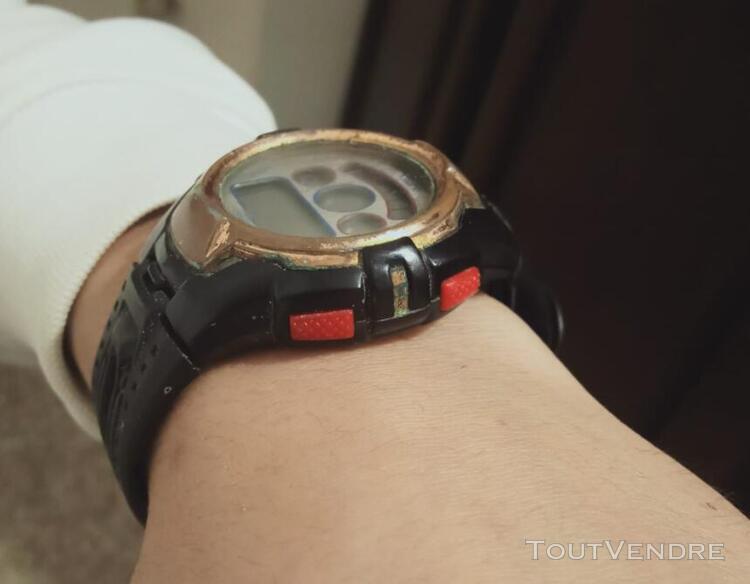 Milano 3 atm water resistant sports digital wrist watch - bl
