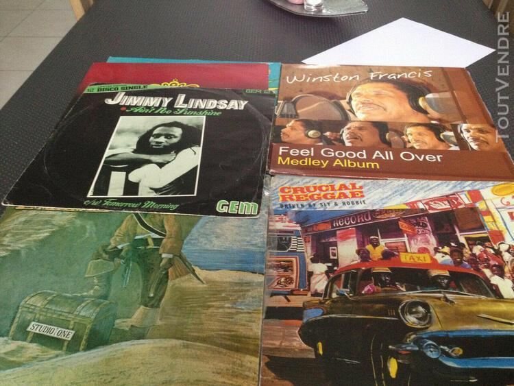 Vinyles reggae 33t