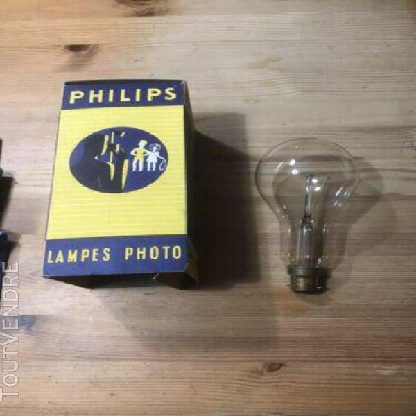 Grande ampoule 200 w mazda 220v bailonette et boite lampe ph