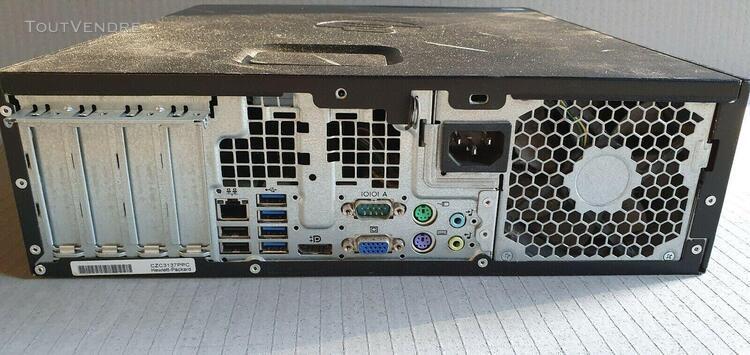 Hp compaq pro 6000 intel core ram 4gb hdd 320gb win 7 *gr