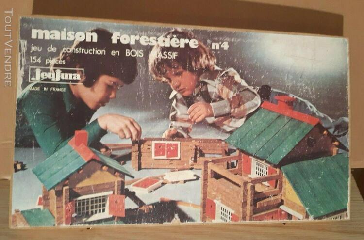 Jeu jura - maison forestière n°8 vintage