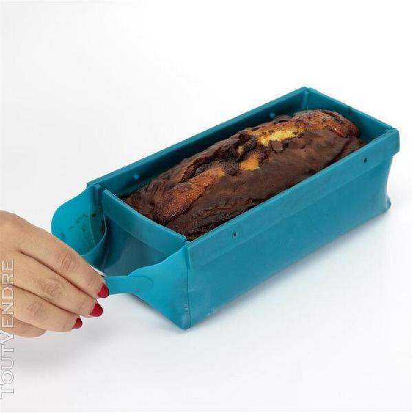Moule à gâteaux en silicone - pliable - l 21 cm x l9 cm x