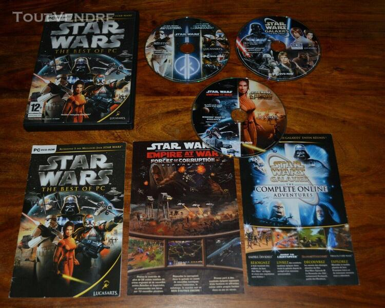 Star wars the best of pc / 5 jeux / vf / complet