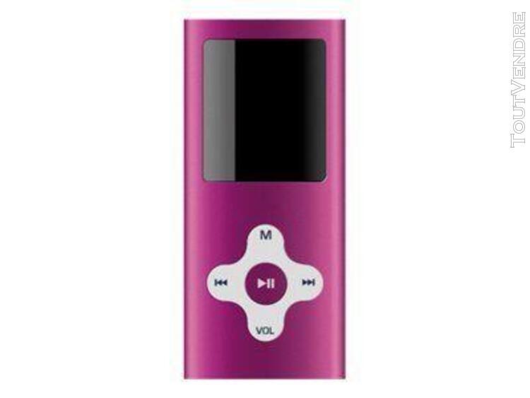 Sweex vidi mp4 player - lecteur numérique - 4 go - rose