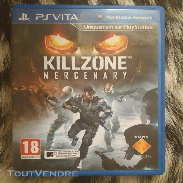 Jeux ps vita killzone mercenary
