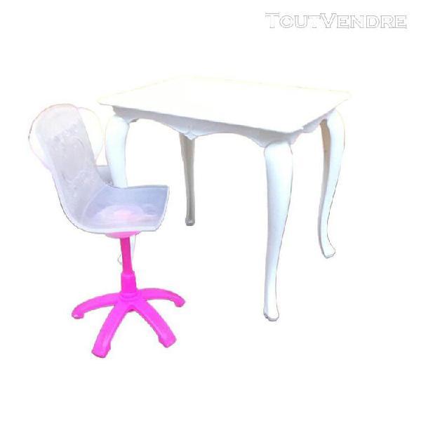 Jouet chaise informatique poupée d'ordinateur chaise
